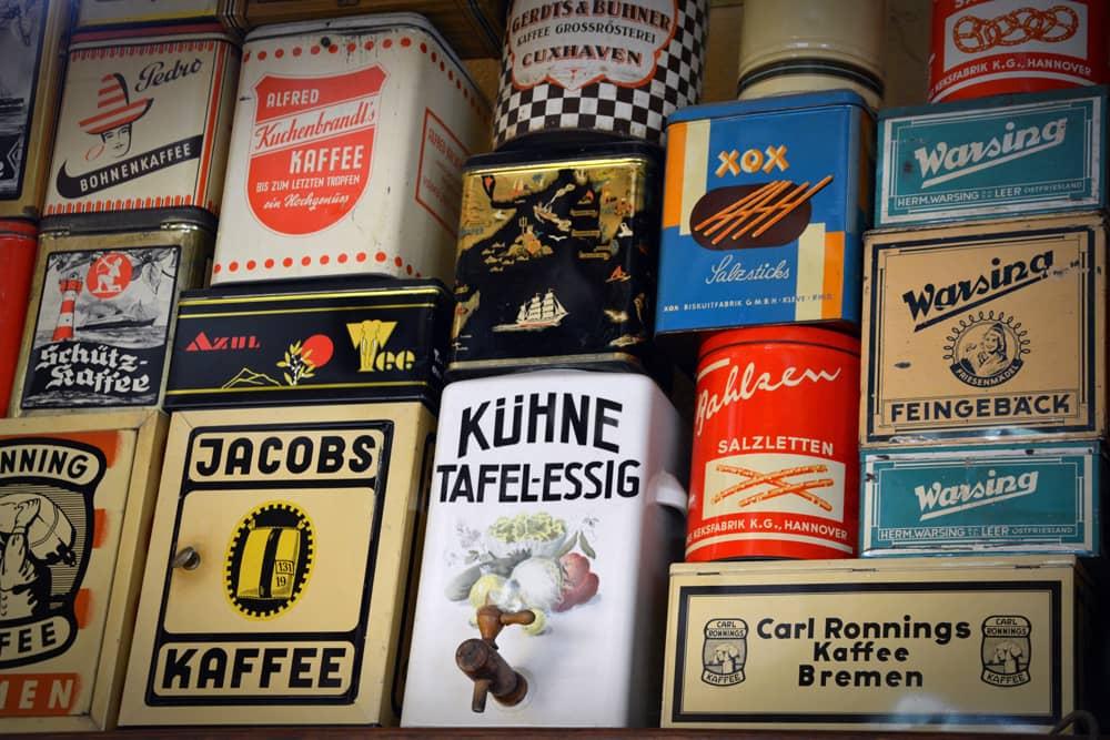 Les boîtes à caf